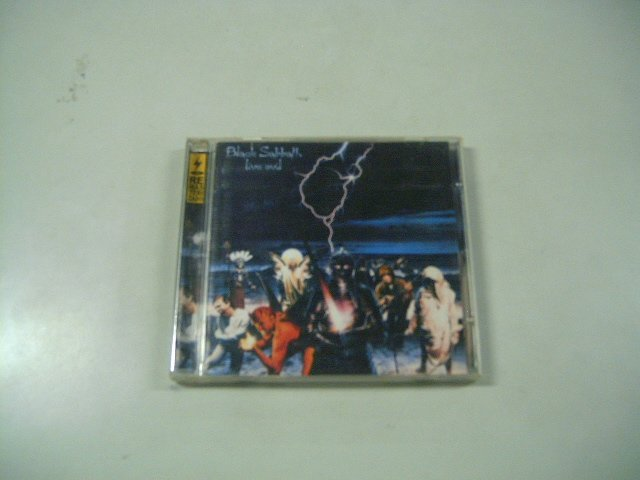 BLACK SABBATH live evil CD 1982 HEAVY METAL