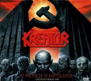 KREATOR at the pulse of kapitulation - live in berlin 1990 DVD 20058 THRASH METAL