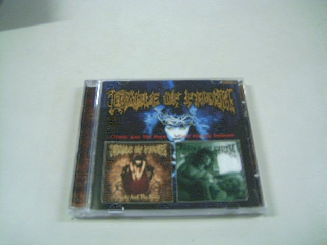 CRADLE OF FILTH cruelty and the beast total fucking darkness CD 1998 1992 BLACK METAL