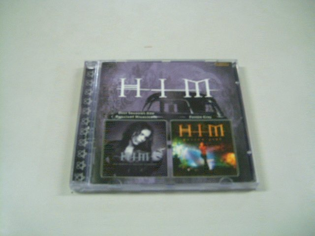 HIM deep shadows and brilliant highlights + poison girl ep CD 2001 2000 POP GOTHIC METAL