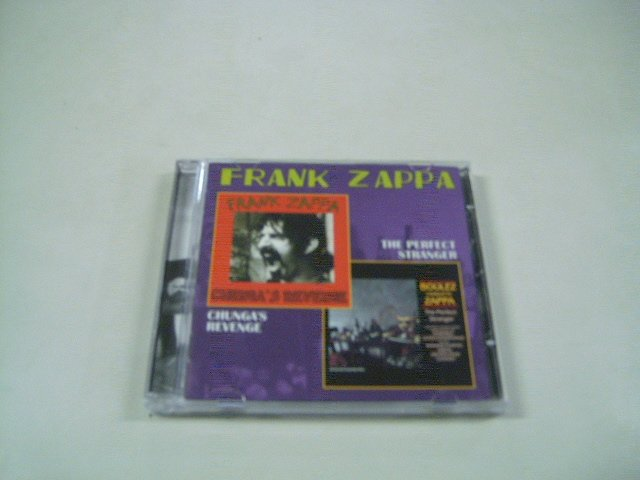 FRANK ZAPPA chunga's revenge the perfect stranger CD 1970 1984 PSYCHEDELIC JAZZ ROCK