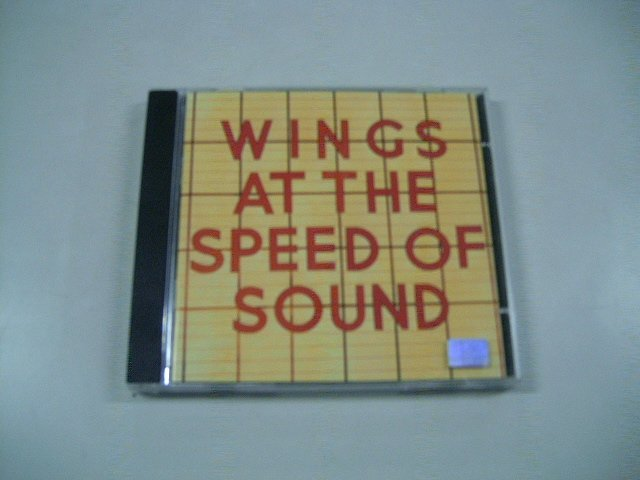 WINGS AT THE SPEED OF SOUND wings at the speed of sound CD 1974 ROCK