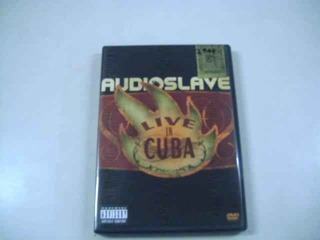 AUDIOSLAVE live in cuba DVD 2005 ROCK POP