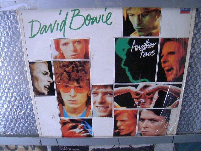 DAVID BOWIE another face LP 1981 ROCK POP