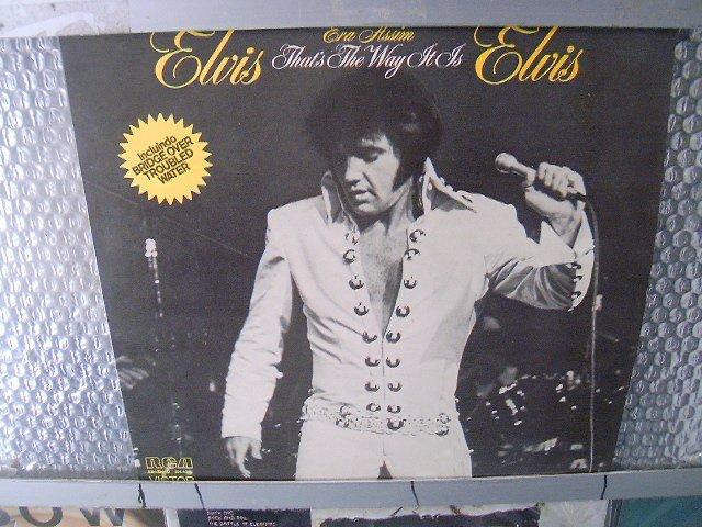 ELVIS elvis era assim LP 1977 ROCK