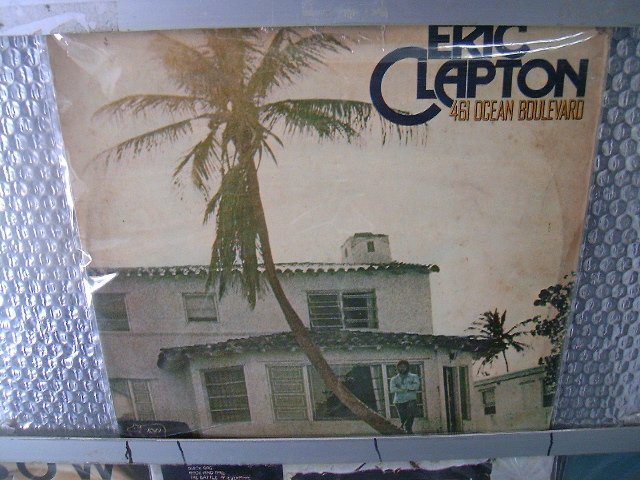 ERIC CLAPTON 461 ocean boulevard LP 1974 BLUES ROCK