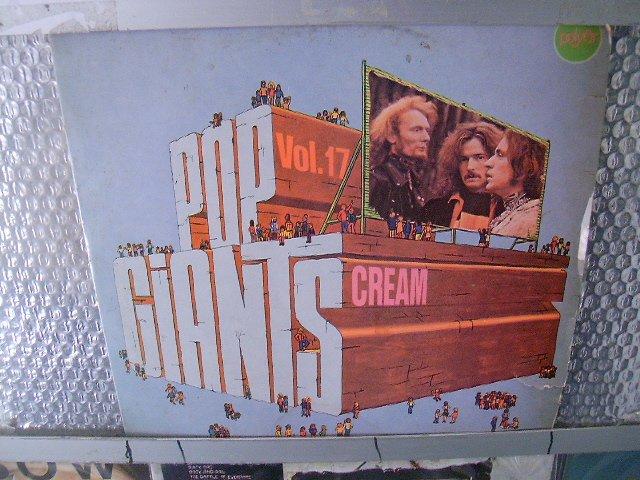 CREAM pop giants vol.17 LP 1975 ROCK