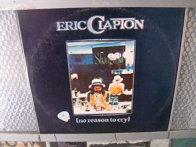 ERIC CLAPTON no reason to cry LP 1977 BLUES ROCK