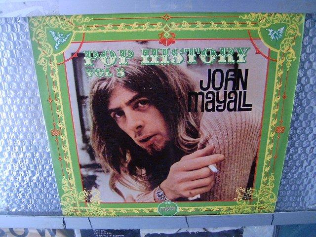 JOHN MAYALL pop history vol. 8 LP 1972 ROCK