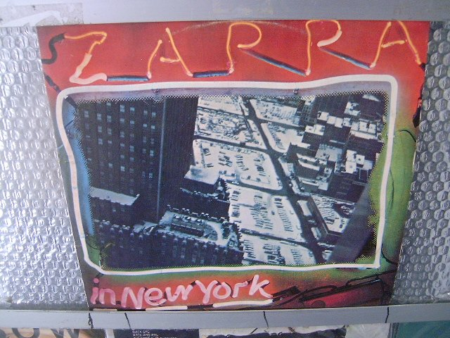 FRANK ZAPPA zappa in new york 2LP 1978 PSYCHEDELIC JAZZ ROCK