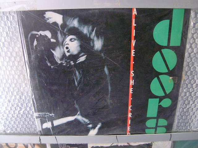 THE DOORS a live she cried LP 1983 ROCK