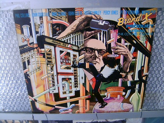 BRAND X product LP 1980 ROCK**