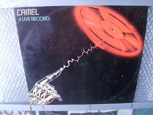 CAMEL a live record 2LP 1978 PROGRESSIVE ROCK*