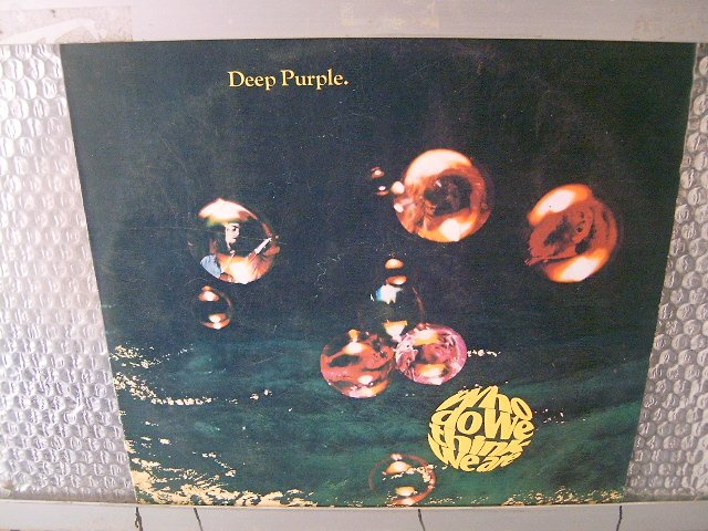 DEEP PURPLE who do we think we are LP 1973 ROCK**