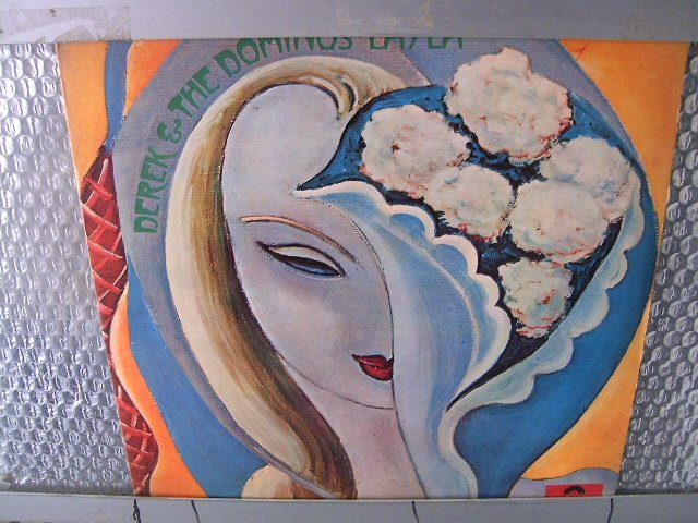 DEREK & THE DOMINOS layla LP 1972 ROCK