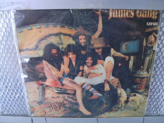 JAMES GANG james gang bang LP 1974 ROCK