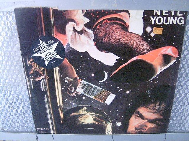 NEIL YOUNG american stars 'n bars LP 1977 ROCK**