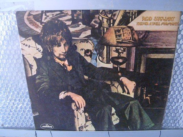 ROD STEWART never a dull moment LP 1972 ROCK**