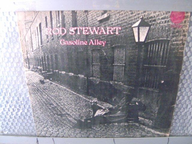 ROD STEWART gasoline alley LP 1971 ROCK**