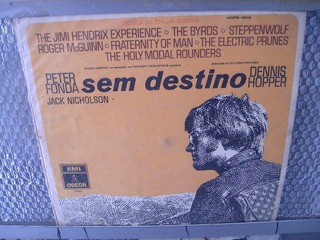 SEM DESTINO EASY RIDER  LP 1970 ROCK