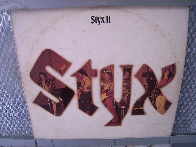 STYX styx 2 LP 1973 HARD ROCK
