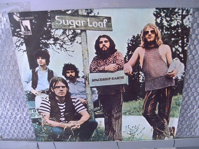 SUGARLOAF spaceship earth LP 1971 ROCK