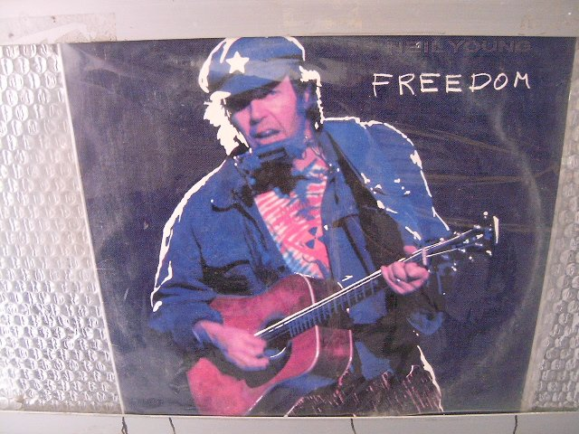 NEIL YOUNG freedom LP 1990 ROCK*