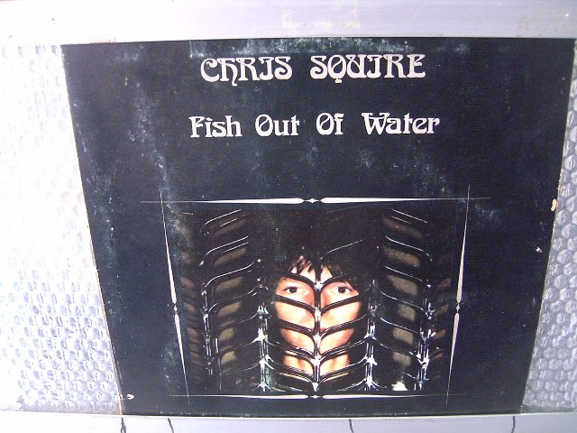 CHRIS SQUIRE fish out of water LP 1976 ROCK