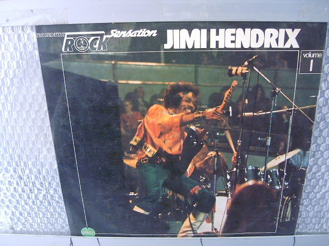 JIMI HENDRIX rock sensation vo.1 LP 1976 ROCK*