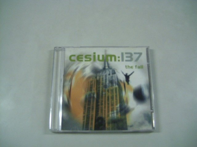 CESIUM 137 the fall CD SINGLE 2001 ELECTRO