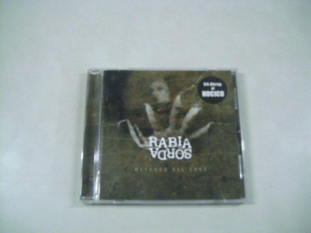 RABIA SORDA metodo del caos CD 2007 DARK ELECTRO (HOCICO MEMBER)