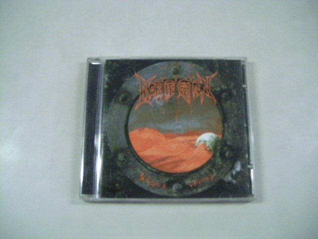 MORTIFICATION blood world CD 1994 DEATH METAL
