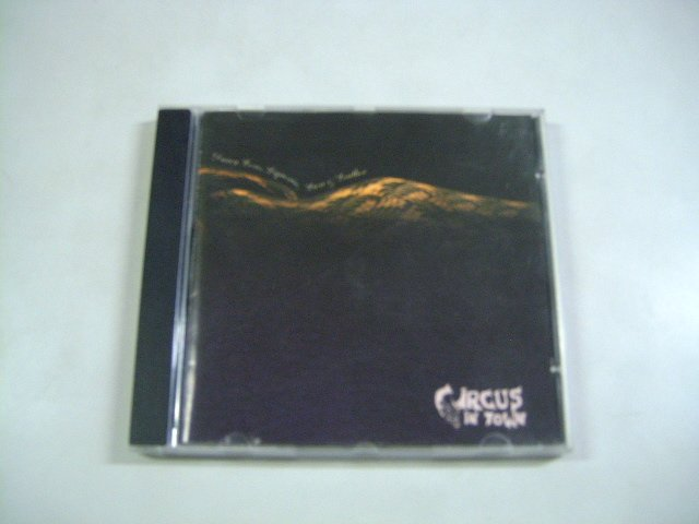 CIRCUS IN TOWN d'arcy loves liquorice, lace & leather CD 1994 SYNTH POP
