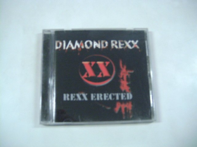 DIAMOND REXX rexx erected CD 2001 HEAVY METAL PUNK