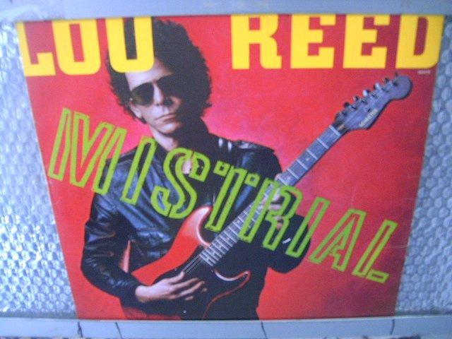 LOU REED mistrial LP 1986 ROCK