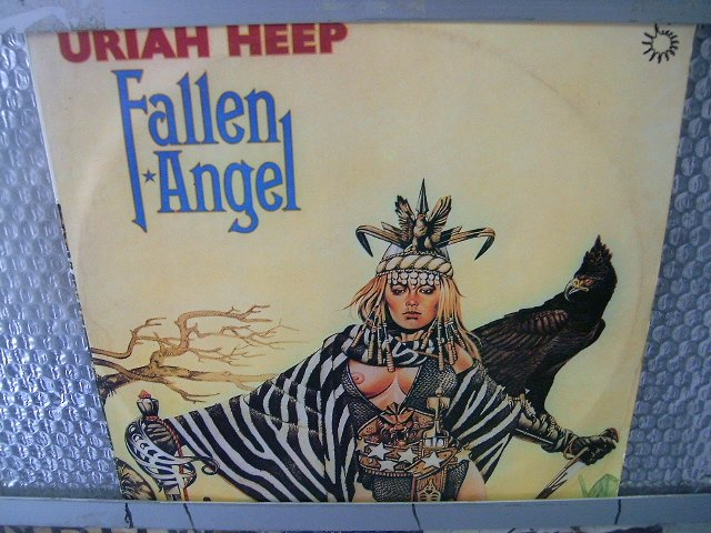 URIAH HEEP fallen angel LP 1978 ROCK**