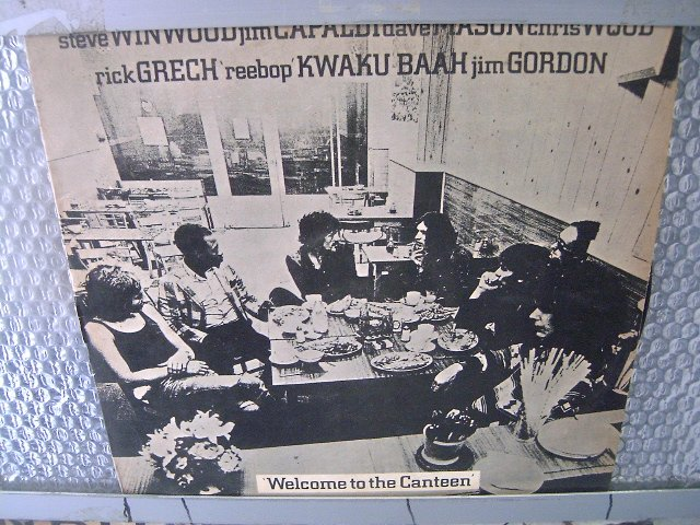 STEVE WINWOOD, JIM CAPALDI, DAVE MASON...welcome to the canteen LP 1972 ROCK**