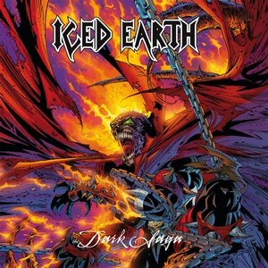 ICED EARTH the dark saga CD 1996 HEAVY THRASH METAL