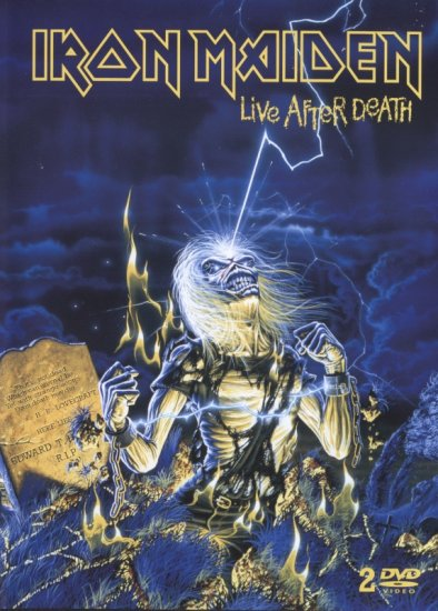 IRON MAIDEN live after death 2DVD 2008 HEAVY METAL