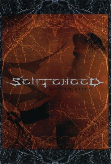 SENTENCED buried alive DVD 2006 GOTHIC METAL ROCK
