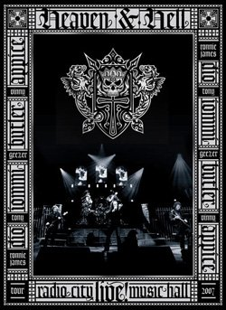 HEAVEN AND HELL radio city music hall live DVD 2007 HEAVY METAL