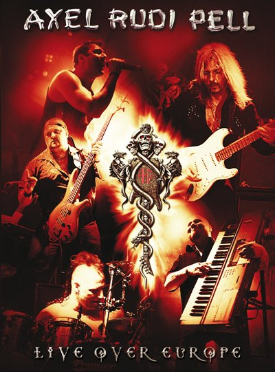 AXEL RUDI PELL live over europe 2DVD 2008 HARD HEAVY METAL
