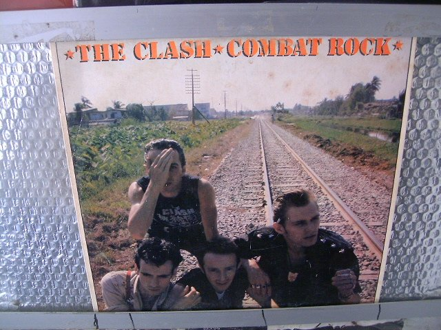 THE CLASH combat rock LP 1982 PUNK ROCK*