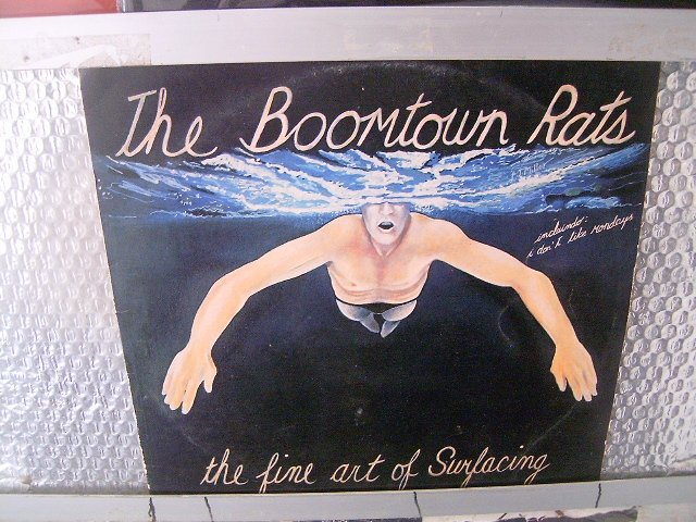 THE BOOMTOWN RATS the fine surfacing LP 1980 ROCK**