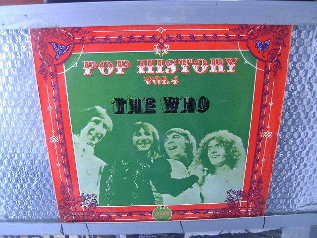 THE WHO pop history vol. 4 LP 1972 ROCK
