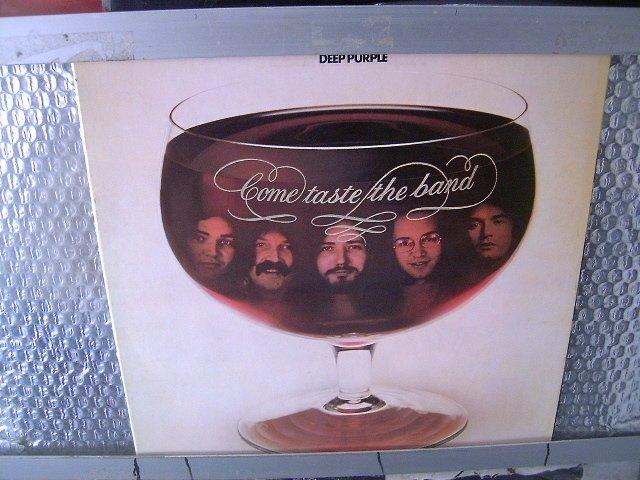 DEEP PURPLE come taste the band LP 1975 ROCK