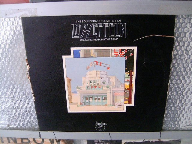 LED ZEPPELIN the song remains the same soundtrack 2LP 1977 ROCK
