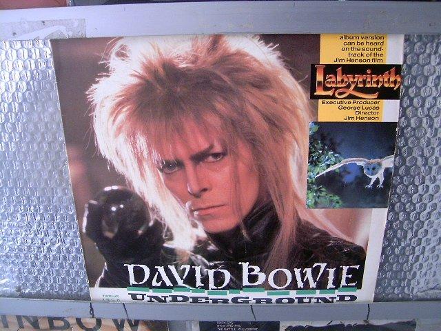DAVID BOWIE underground LP 1986 ROCK POP**