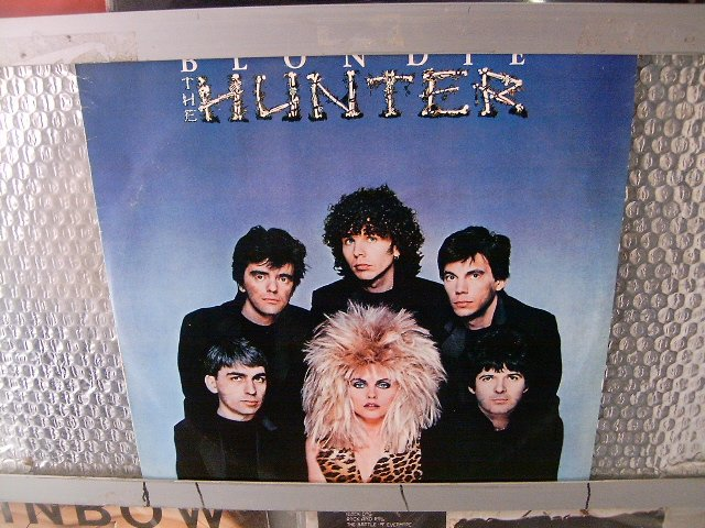 BLONDIE the hunter LP 1982 NEW WAVE