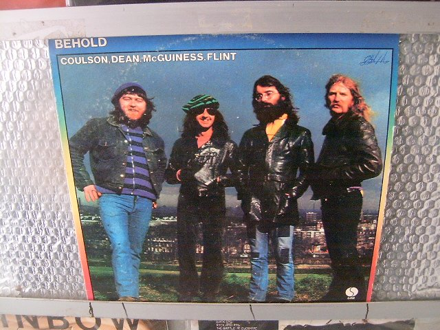 COULSON, DEAN, MCGUINNESS, FLINT lo and behold LP 1972 ROCK**